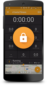 Data Secure Fitness App
